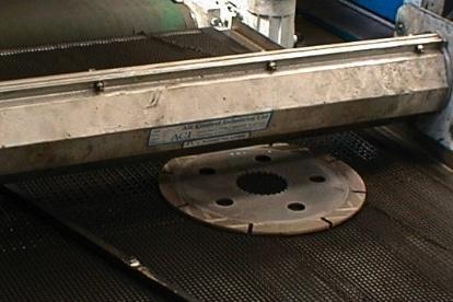 Air Knife System - Metallteil abblasen und trocknen