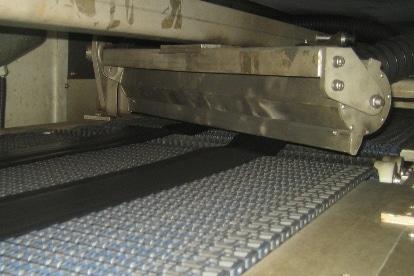 Air Knife Trocknungsanlage- Laufstreifen Reifen trocknen