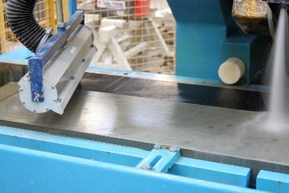 AAir Knife System - Steinpaltte trocknen
