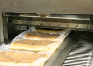 Air Knife Trocknungsanlage - Vakuumverpackung trocknen