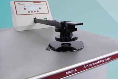 Air Perm - Luftdurchlässigkeitstester DIN EN ISO 9237