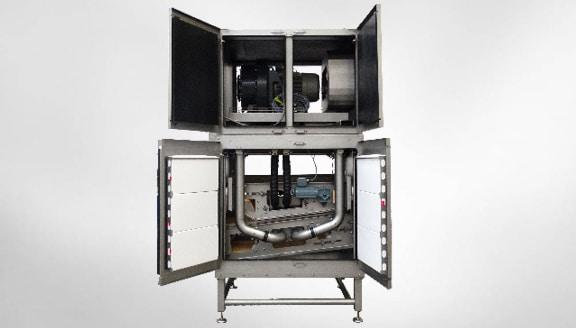 Trocknungssystem für Vakuumverpackung