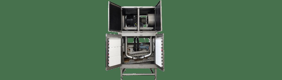 Trocknungssystem für Vakuumverpackungen Feature