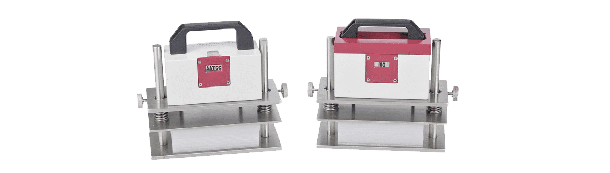 Persirometer mit ISO und AATCC Gewicht Feature
