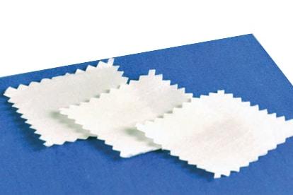 Reibgewebe – gezackte Schnittkante nach ISO 105-F09